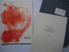 GARACHE CLAUDE 4 LITHOGRAPHIES 1980 DERRIERE LE MIROIR DLM HC/150 SIGNÉ CRAYON