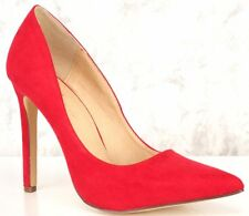 HighHeel Pointed Toe 4.5-in Stiletto Sexy Women's Red Shoes US-11