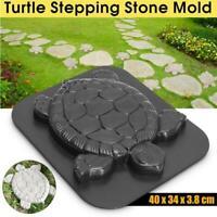 DIY Tortoise Path Maker Mold Garden Path Stone Molds Concrete Cement Mould Decor