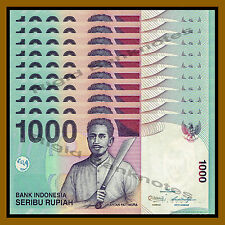 Indonesia 1000 Rupiah x 25 Pcs, 2013 P-141m Unc
