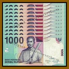 Indonesia 1000 Rupiah x 100 Pcs Bundle, 2013 P-141m Unc