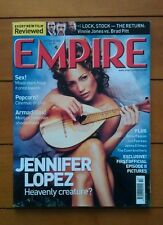 Empire October 2000 Jennifer Lopez, Coen Brothers, Morgan Freeman, Anna Paquin