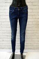TOMMY HILFIGER Jeans Blu Slim Donna Taglia 29 Pants Woman Pantalone Casual