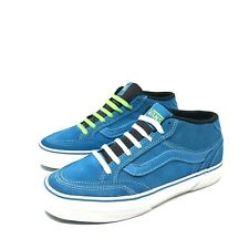 VANS HOLDER MID BLUE SNEAKERS SHOES WOMENS SIZE 9 ATHLETIC SHOES