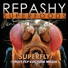 New listing Repashy Superfly Fruit Fly Culture Media Bearded Dragon Crested Gecko Reptile.