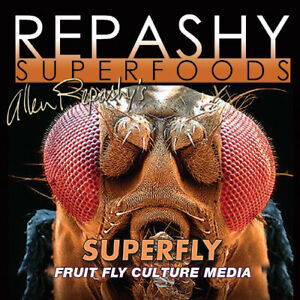 Repashy Superfly Fruit Fly Culture Media Bearded Dragon Crested Gecko Reptile...