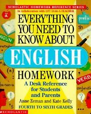 Everything You Need to Know. .: Everything You Need to Know about English...