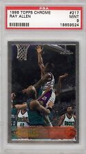 Ray Allen 1996 Topps Chrome #217 Rookie Card rC PSA 9 Mint QTY