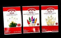 300 pack Multi Color Mini Christmas Lights 59 FT Long Indoor Outdoor Your Choice