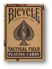 Bicycle - Tactical Field - Brown Playing Cards Poker Spielkarten Cardistry