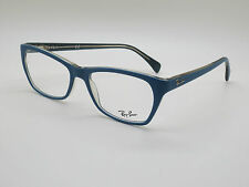 NEW Authentic Ray Ban RB 5298 5391 Matte Blue 55mm RX Eyeglasses