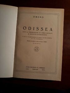 Odissea, Nerbini 1939