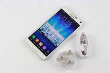 Samsung Galaxy Note 4 - 32GB White (Unlocked) AVERAGE CONDITION, GRADE C 890