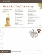 #UX533-C1 27c  Mount St. Mary's University Postal Card First Day Program w/auto