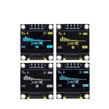0.96 inch Serial White OLED Display Module 128X64 I2C SSD1306 LCD Screen Board;