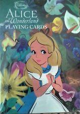 Alice in Wonderland Disney playing cards