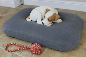 Luxury BEAN BAG Dog Bed ~ Soft Thermal Cushion Mattress Pet Bed. Washable Cover.