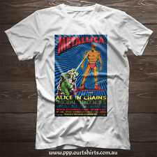 Metallica poster black or white T shirt