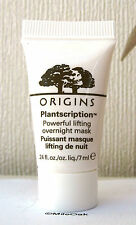 Origins Plantscription Powerful Lifting Overnight Mask  1 x 7ml Size New Unboxed