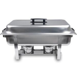 Chafing Dish BASIC für GN-Behälter Speisenwärmer Rechaud Buffet und Catering ...