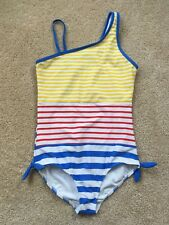 NWD LANDS' END Girls Striped One-Piece Swimsuit Sz 14