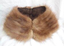 Ancien col de manteau en fourrure, mercerie couture
