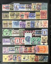 Revenue Stamps - Germany & States general selection.