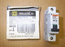 New Merlin Gerin Square D MG17415 1P 277V 7 AMP Trip Curve C60N Circuit Breaker