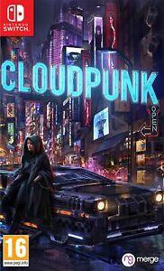 Cloudpunk Nintendo Switch Game