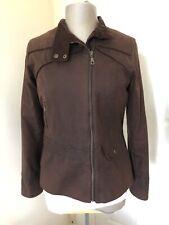 Welligogs 💕Roxy Brown Fitted Wax Coat/Jacket.🎁Worn Twice.Size 12