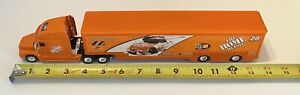 VINTAGE 1999 DIE CAST HOME DEPOT NASCAR RACE CAR HAULER TONY STEWART VOLVO TRUCK