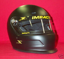 Impact Charger Racing Helmet Flat Black SA2015 imca Your Choice of Size S,M,L,XL