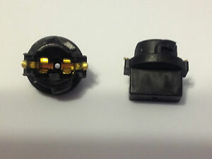 "2 For Nissan Instrument Panel Cluster Light Bulb Lamp Dashboard 1/2"" Sockets NOS"