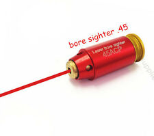 45 ACP / .45ACP Pistol Red Laser Bore Sight RED NEW
