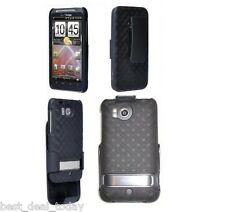 Verizon OEM Shell Case Holster Combo W/ Clip Fit For HTC Thunderbolt 4G ADR6400