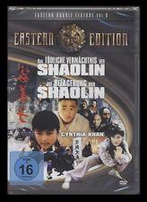 DVD EASTERN DOUBLE FEATURE VOL. 6 - TÖDLICHE VERMÄCHTNIS DER SHAOLIN +BELAGERUNG