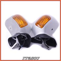 Pearl White Mirrors For Honda Gold wing GL1800 01-11 03 04 05 06 07 08 09 10 11