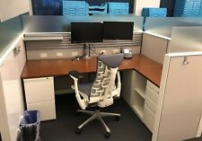 Modern Office For A Great Price Herman Miller Canvas 7x5 Cubicles