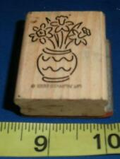 Stampin' Up Rubber Stamp Flowers in Vase Scrapbooking Cards Paper Crafts