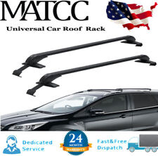 2x Universal Roof Rack Cross Bars Luggage Carrier Rubber Gasket For 4dr Car Suv