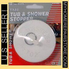 US SELLER— FREE S&H! —AQUA PLUMB— RUBBER BATHTUB TUB DRAIN STOPPER 1 1/2 -2 INCH