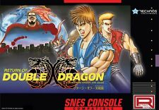 Super Nintendo Return of Double Dragon (SNES Compatible) - Super NES *US Seller