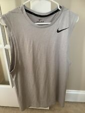 Mens Nike Sleeveless Shirt In Size Small
