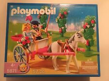 Playmobil 5871 Princess Fantasy Castle Wedding Carriage NISB