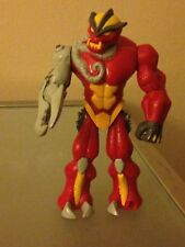 Gormiti Lavion Action Figure Red And Yellow Monster