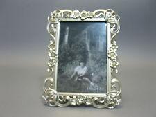 Luxus Bilderrahmen  aus Messing 20 cm x 16 cm Jugendstil mit Strass