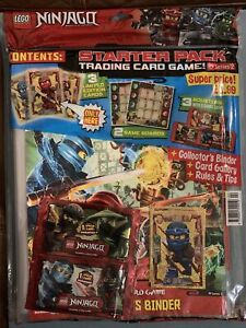 Lego Ninjago Masters Of Spinjitzu Series 2 Trading Cards Starter Pack