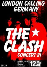 """Reproduction Alternate """"The Clash - London Calling"""" Poster, Punk, Size A2"""