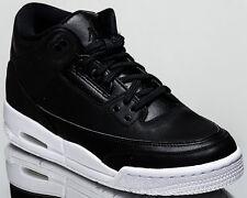 Air Jordan 3 Rétro Bg Cyber Monday III Ragazzi Lifestyle Da Nuovo Bianco Nero
