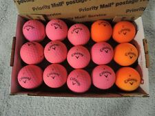 15 Calloway Super Soft 8 pink and 4 orange golf balls Free Shipping